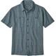 Patagonia Back Step Shortsleeve Shirt Men blue